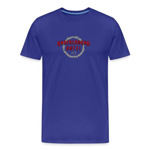 Men's Heavy-weight Cotton (center logo) - Pick your color - Men's Premium T-Shirt