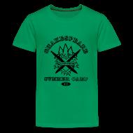 Kids' Shirts ~ Kids' Premium T-Shirt ~ Kids' Bay Area Shakespeare Camp Black Logo Basic Tee
