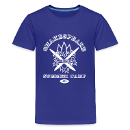 Kids' Shirts ~ Kids' Premium T-Shirt ~ Kids' Bay Area Shakespeare Camp White Logo Basic Tee