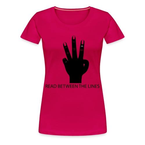 READ IT - Women's Premium T-Shirt