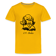 Kids' Shirts ~ Kids' Premium T-Shirt ~ Kids' SF Shakes Line Drawing Basic Tee