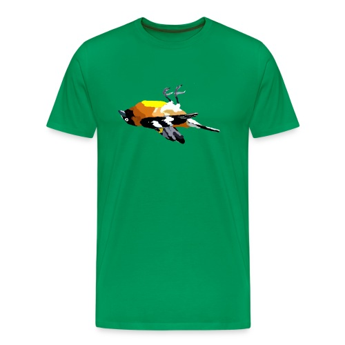 dead bird - Men's Premium T-Shirt