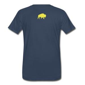Buffalo Hockey - Men's T-Shirt (sonic) - Men's Premium T-Shirt