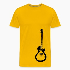Gold les paul gibson special guitar T-Shirts