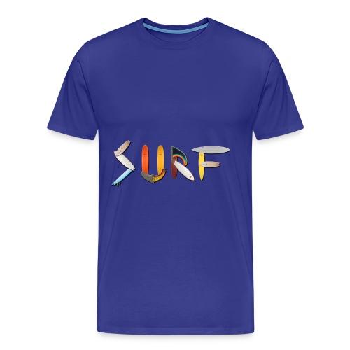 surfer's shirt - Men's Premium T-Shirt
