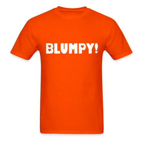 Blumpy Orange - Men's T-Shirt