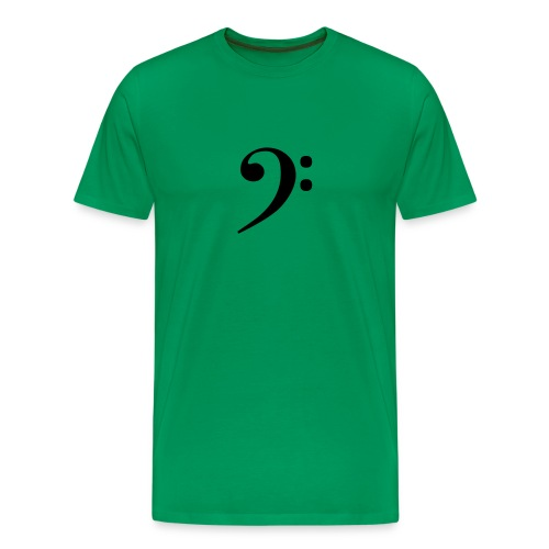 Bass Clef - Men's Premium T-Shirt