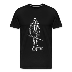 Gothic Knight Black - Men's Premium T-Shirt