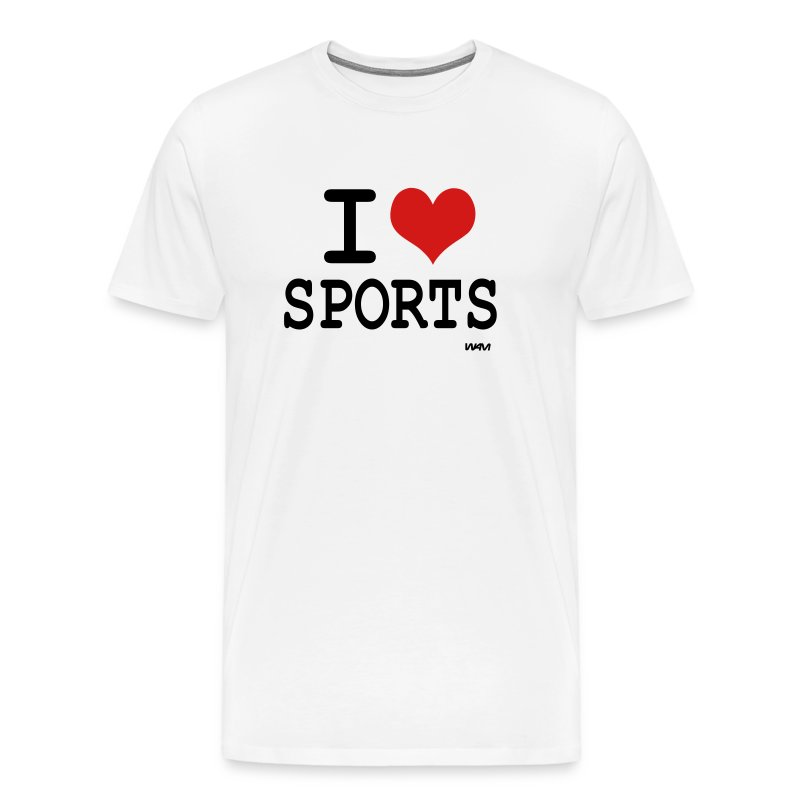 i love sports by wam t shirt spreadshirt