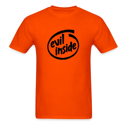 Evil inside - Men's T-Shirt