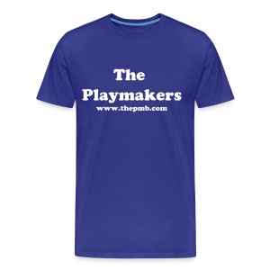 The Playmakers-Kentucky Wildcats(CATS Chant on BACK) - Men's Premium T-Shirt