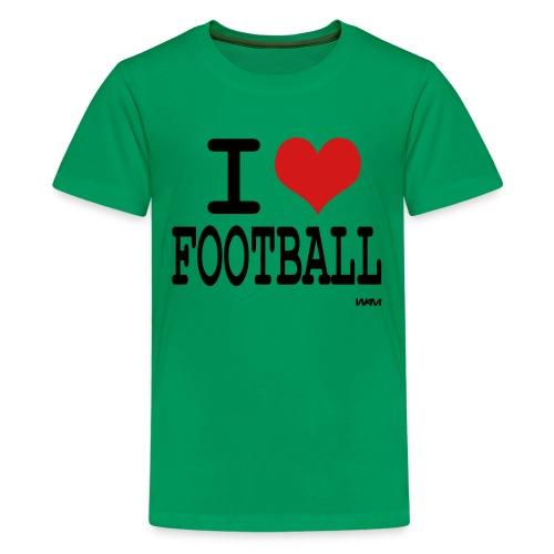I Love Football T - Kids' Premium T-Shirt