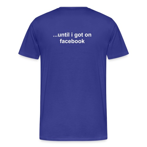 facebook addict4 - Men's Premium T-Shirt