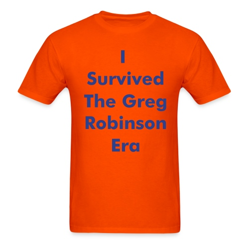 I Survived Greg Robinson Tee - Men's T-Shirt