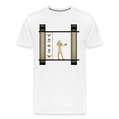 Anubis and Dug - Men's Premium T-Shirt
