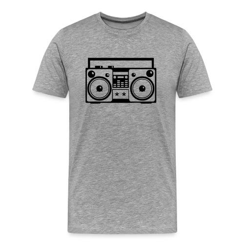 Boom Box Heavyweight  T-Shirt - Men's Premium T-Shirt