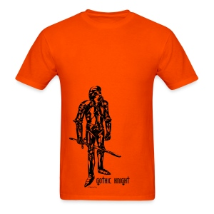Gothic Knight Orange - Men's T-Shirt