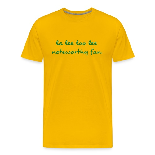 Men's la lee loo lee Tee - Men's Premium T-Shirt