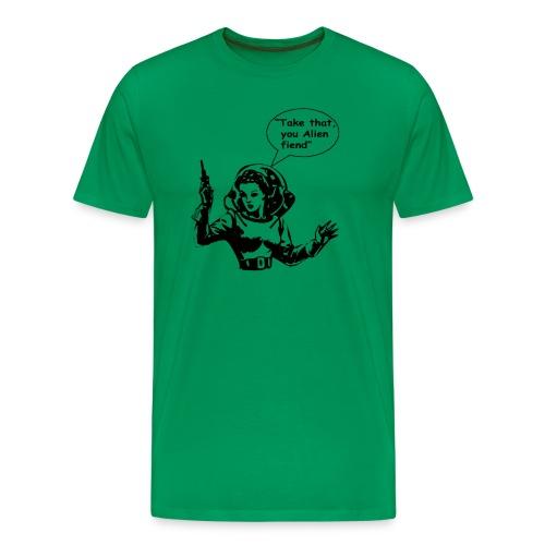 Alien Feind - Men's Premium T-Shirt