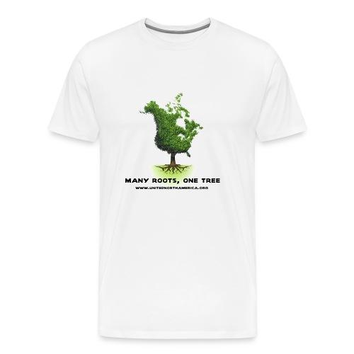 United North America Heavyweight T-Shirt - Men's Premium T-Shirt