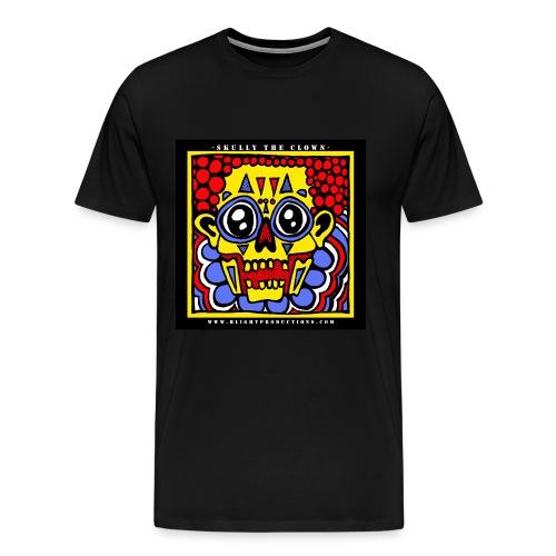 3XL - Skully the Clown T Shirt - Men's Premium T-Shirt