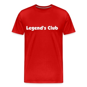 The original Legend's Club t - Men's Premium T-Shirt