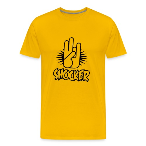 shocker - Men's Premium T-Shirt