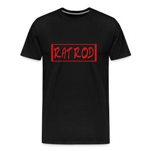 Men`s Heavyweight T-Shirt - RAT ROD by VAN TRIBE FASHION - Men's Premium T-Shirt