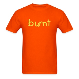 burnt t-shirt orange/yellow - Men's T-Shirt