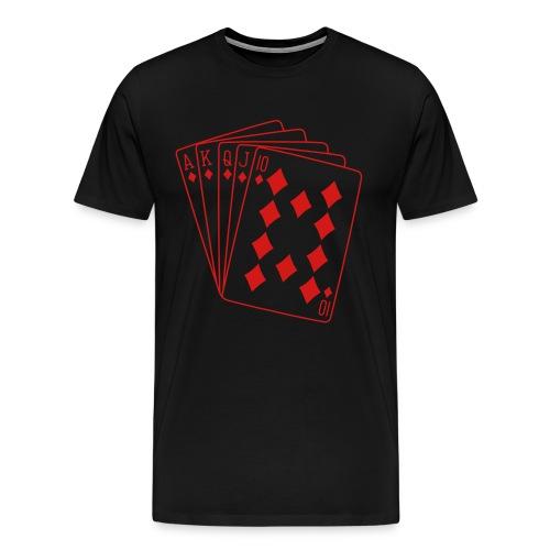 Royal Flush - Men's Premium T-Shirt