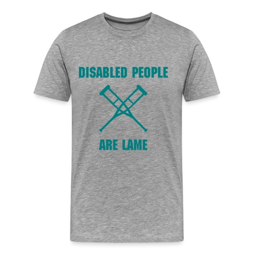 Disabled Tee - Men's Premium T-Shirt