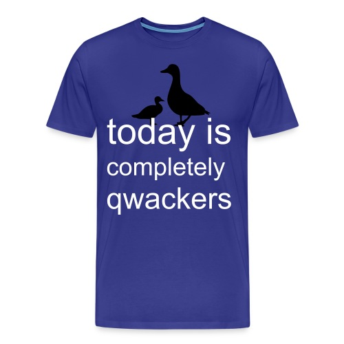 Qwackers T-shirt - Men's Premium T-Shirt