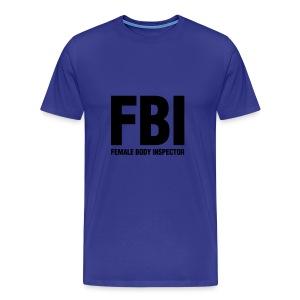 FBI - T-shirt premium pour hommes