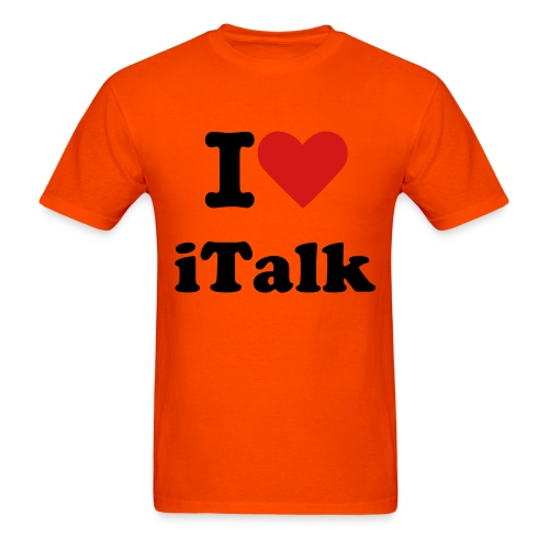 I love iTalk! - Men's T-Shirt