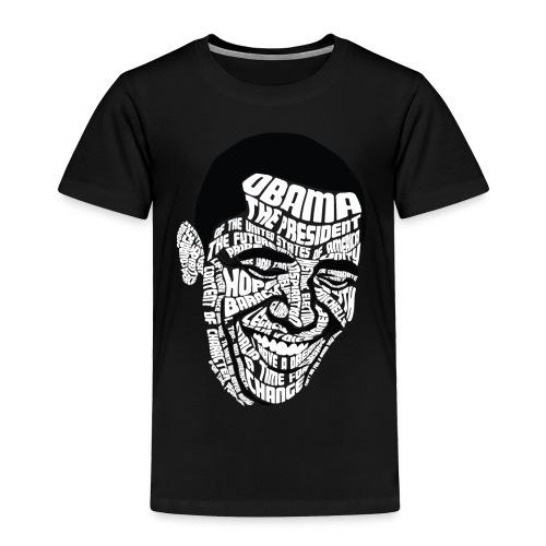 Wordsworth Obama Kids - BLACK - Toddler Premium T-Shirt