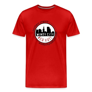 Windy City Red Hots NOVA - Men's Premium T-Shirt