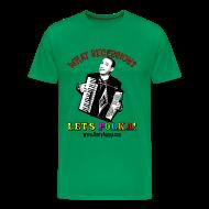 T-Shirts ~ Men's Premium T-Shirt ~ Men's Heavyweight T-Shirt/Sage