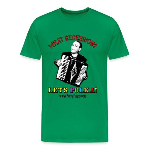 Men's Heavyweight T-Shirt/Sage - Men's Premium T-Shirt