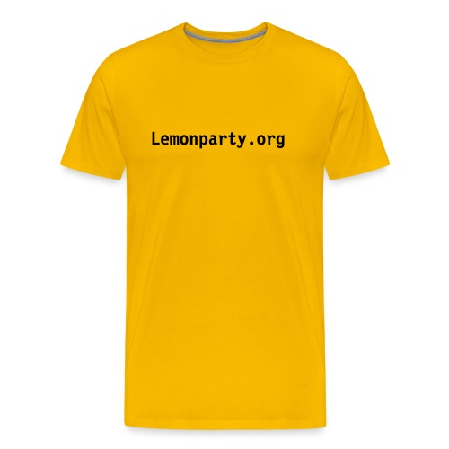 Lemonparty - Men's Premium T-Shirt