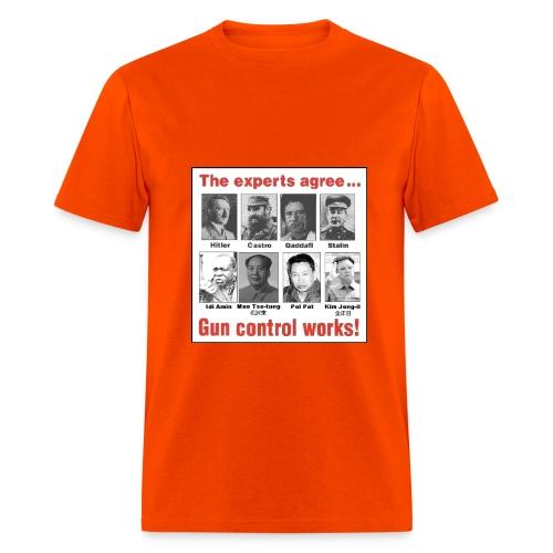 Gun Control T-Shirt - Men's T-Shirt