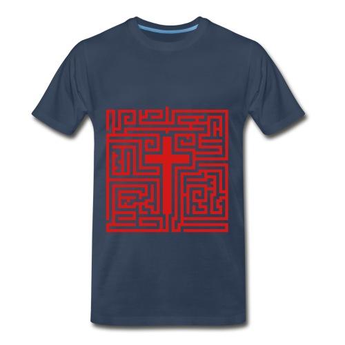The road to life T-shirt - Men's Premium T-Shirt