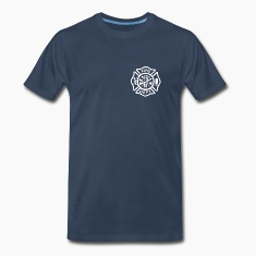Fire/EMS Shirt (White Imprint)