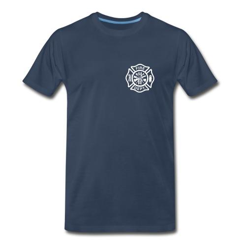 Fire/EMS Shirt (White Imprint) - Men's Premium T-Shirt