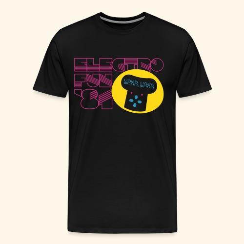 Electro Fun '81 - Men's Premium T-Shirt