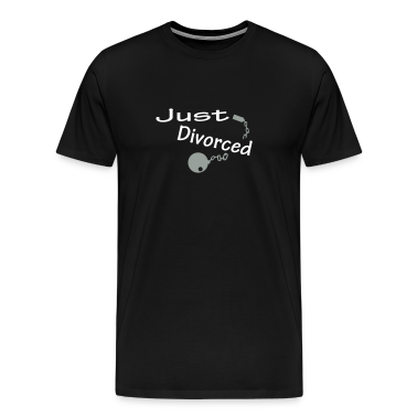 Black Just Divorced T-Shirts