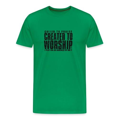 Created To Worship - Men's Premium T-Shirt