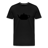 T-Shirts ~ Men's Premium T-Shirt ~ Utah Teapot - Stealth