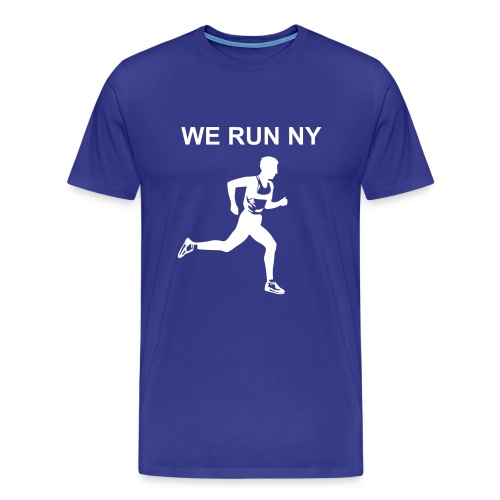 WE RUN NY TEE-SHIRT - Men's Premium T-Shirt