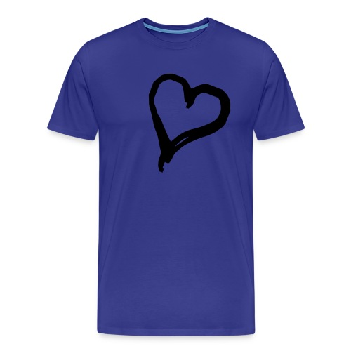 Mens Heart Tee - Men's Premium T-Shirt