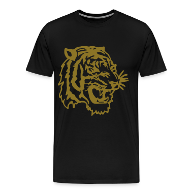 Black tiger T-Shirts